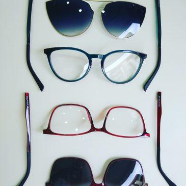 Gafas con clip-on